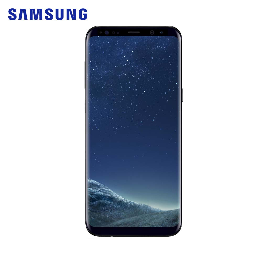 Samsung Galaxy S8 + SM-G955F 4 GB RAM 64 GB ROM octa core 6.2 pouces 12 MP smartphone 1440x2960 pixels Android 7.0 téléphone mobile