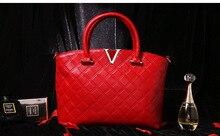 2016 fashion genuine leather bag women handbag real genuine leather shoulder bag black big top qualtiy bag tote