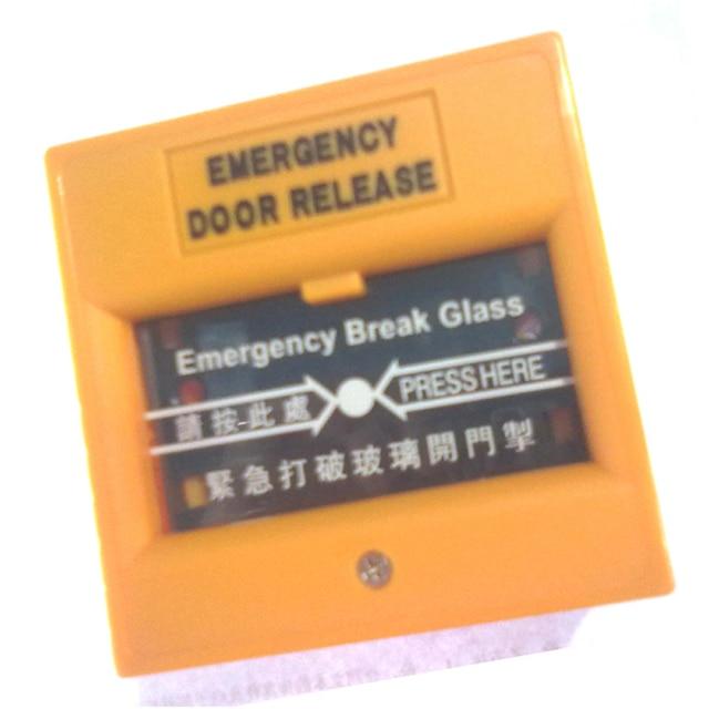 Emergency Door Release Glass Break Alarm Button Emergency switch exit button access control