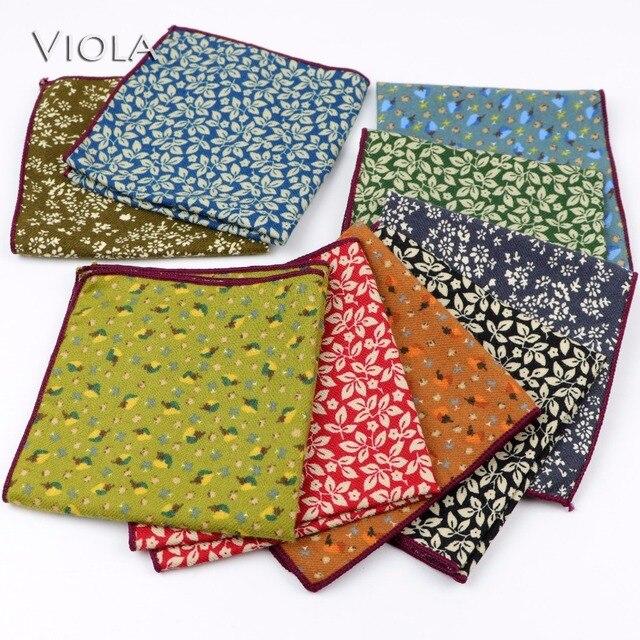 "KALAMKARI PRINT Flora 100/% Cotton Men Women Pocket Square Handkerchief Hanky 12/"""
