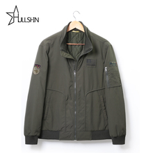 Men jacket jean military Plus size 7XL army soldier cotton Air force one male clothing Spring