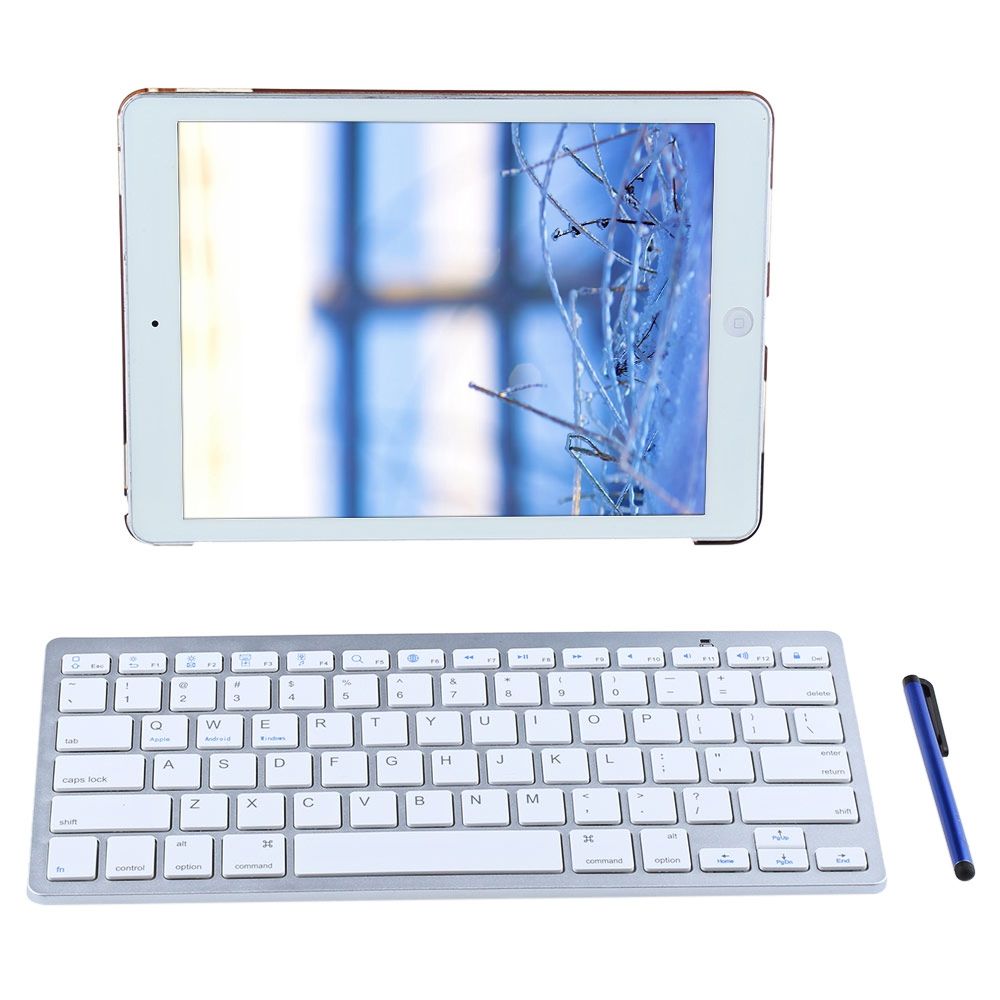 4 In 1 Leather Stand Smart Fashion Cover Case For iPad Pro 9.7 With Wireless Bluetooth Keyboard Anti-knock And Dirt-resistant