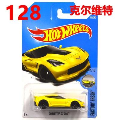 New Arrivals 2017 Hot Wheels Corvette C7 Z06 Models Metal