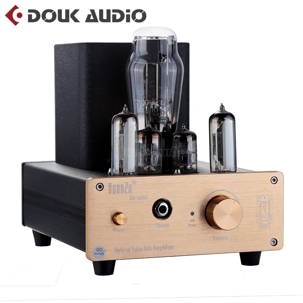 цена 2018 New Nobsound Stereo Vacuum 6N3 Tube Hybrid Class A Tube Amplifier Desktop PC USB DAC HiFi Audio Preamp