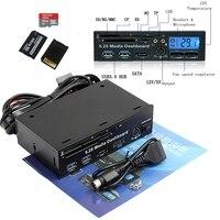 5 25 5 25 Inch PC Media Dashboard PCI E Port ESATA SD USB 3 0