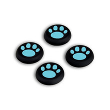 4 PCS Replacement Gamepad Sticker Controller Catlike Thumb Stick Caps for PS4 PS3 PS2 Xbox One/360 Silicone Game Controller