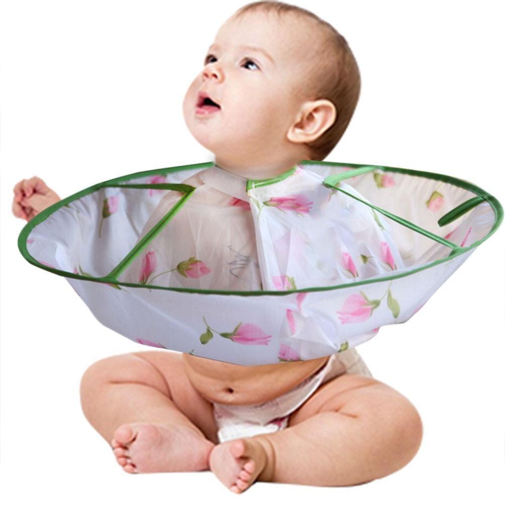 Infant Baby Haircut Wrap Capes Children Cloak Apron Shampoo Capes Hair Cut Clothes Waterproof Haircut Hair Care