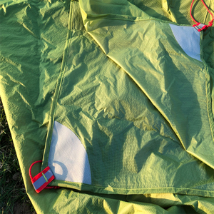 Image 3 - FLAMES CREED 160g Ultralight טארפ קל משקל מקלט שמש קמפינג מחצלת אוהל טביעת רגל 15D ניילון סיליקון Tenda Para קארו