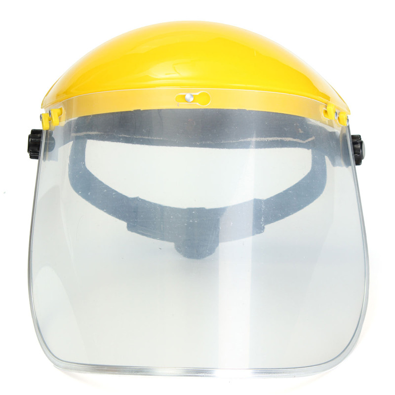 New Arrival Adjustable Clear Face Mask Shield Visor Safety Workwear Eye Protection Gardening chainsaw safety helmet w visor face protector hat eye protection free shipping outdoor brushcutter guard trimmer shield