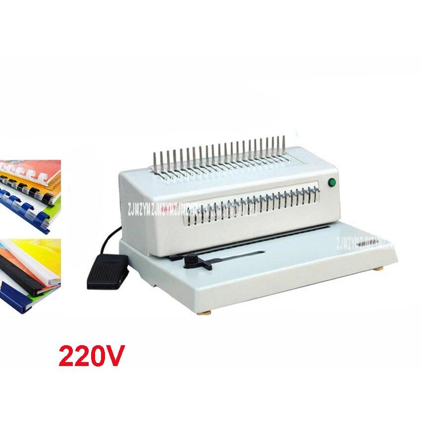 2088BHeavy Comb Type 300MM Binding Machine 21 Holes