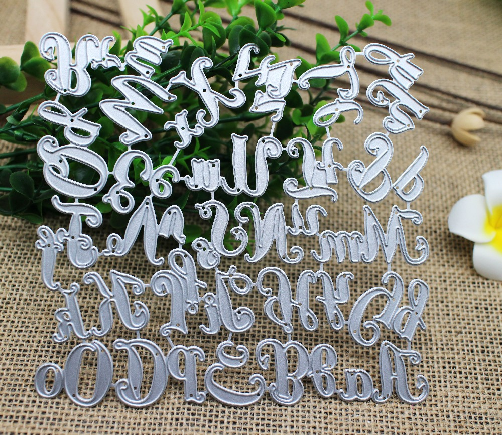 150*140mm 26 Capital&Lowercase Alphabet Metal Dies 26 Letters Cutting Dies Scrapbooking Embossing Dies Cut Stencils DIY Cards150*140mm 26 Capital&Lowercase Alphabet Metal Dies 26 Letters Cutting Dies Scrapbooking Embossing Dies Cut Stencils DIY Cards