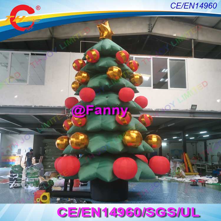 Christmas Tree Inflatables.Us 500 0 Custom Popular Design Giant Inflatable Christmas Tree For Outdoor Decoration Christmas Inflatables Trees In Inflatable Bouncers From Toys