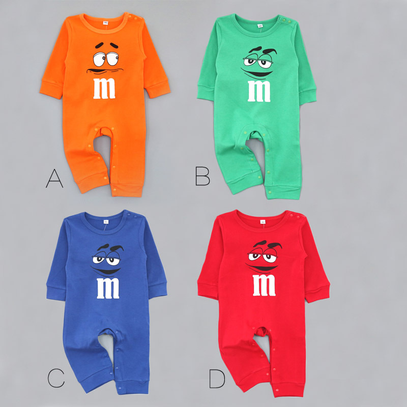 clothing wholesale 16 M printed cotton qiu dong ha clothing baby climb clothes jumpsuit  ...