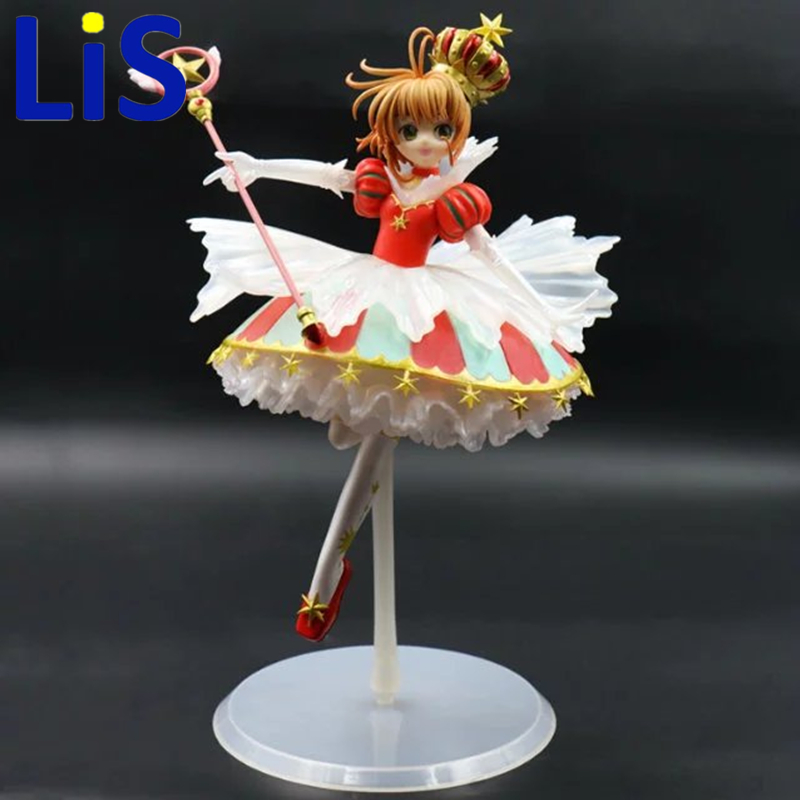 Lis 26cm Card Captor Sakura costume cosplay for girls princess maid lolita dress Kawaii Christmas dress high quality rear wheel hub for mazda 3 bk 2003 2008 bbm2 26 15xa bbm2 26 15xb bp4k 26 15xa bp4k 26 15xb bp4k 26 15xc bp4k 26 15xd