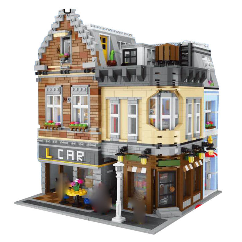 LEPIN 15034 4210Pcs Genuine Series MOC The New Building City Set Building Blocks Bricks Educational Toy Model As Christmas Gifts ynynoo lepin 02043 stucke city series airport terminal modell bausteine set ziegel spielzeug fur kinder geschenk junge spielzeug