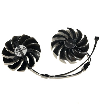 PLD09210S12HH 87mm Graphics Card fan GPU Cooler For GeForce Gigabyte GTX 1070 GTX1070ti WINDFORCE Card As Replacement image
