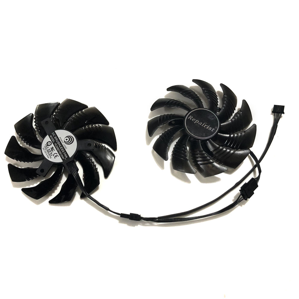 PLD09210S12HH 87mm Graphics Card fan GPU Cooler For <font><b>GeForce</b></font> Gigabyte GTX 1070 <font><b>GTX1070ti</b></font> WINDFORCE Card As Replacement image