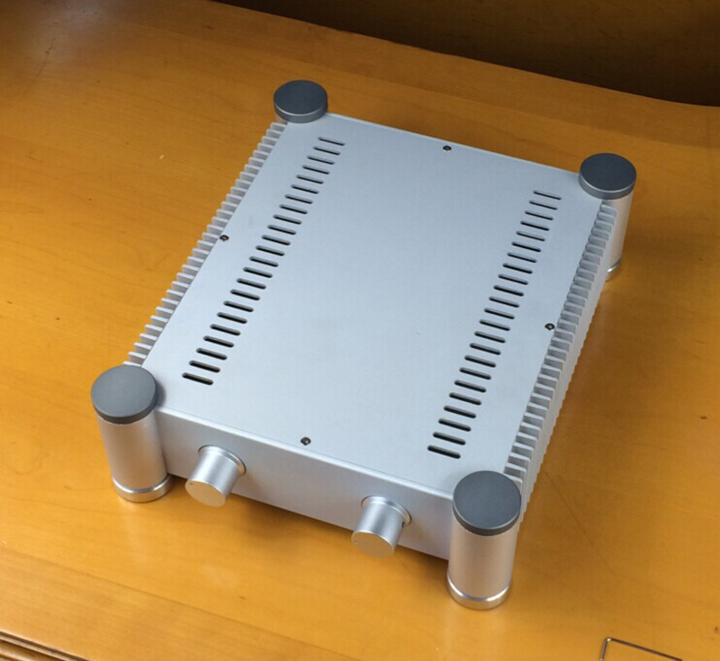 цена на RD2607 Aluminum enclosure Preamp chassis Power amplifier case/box size 260*86*311mm