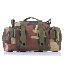 Fishing Bag Multifunctional Camouflage Lure Bag Fishing Tackle Bag Backpack Shoulder Pack Outdoor Bag