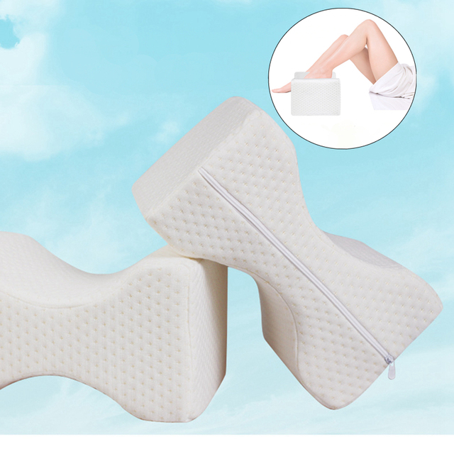 Us 11 79 50 Off Positioning Body Pillows Sleeping Bolster Under Knee Pillow Orthopedic Posture Supporter Leg Cushion Sciatica Pain Relief Brace In