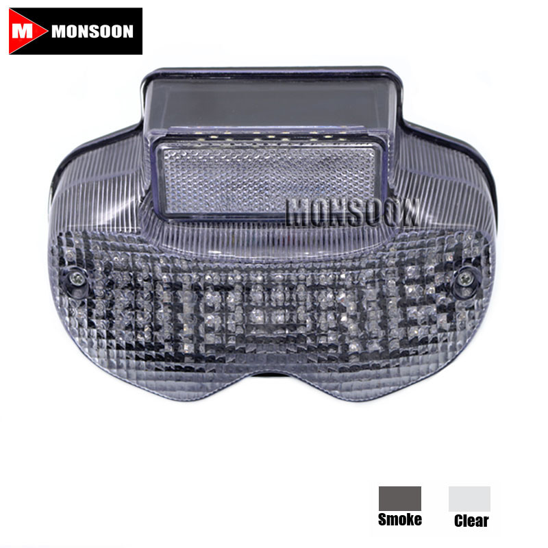 полярис 2005 For SUZUKI BANDIT 600 2000-2005 BANDIT 1200 2001-2005 Motorcycle Accessories Integrated LED Tail Light Turn signal Blinker Clear