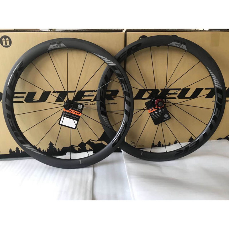 F3 2018 New road bicycle light carbon wheelset 700C 50mm Tubular Clincher road bike wheels 4 bearings 11 speeds matte UD finish цена