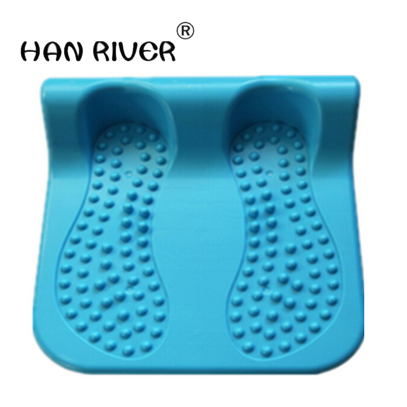 Household lumbar spine traction bed legs flexible stretcher training orthotics brace stool thin leg ligament