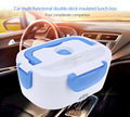 12V Car Heated Lunch Box Multi-functional Double-deck Insulated Electronic Lunch Box Heat Preservation Integrated Type