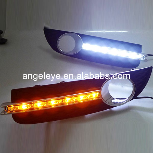 2009-2013 year For Buick For Regal Verano Opel insignia LED DRL Daytime Running Light with Turning Function V2