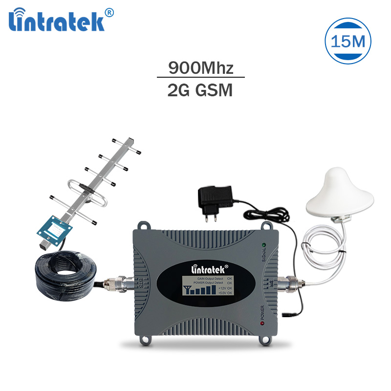 Lintratek Signal Booster Repeater Gsm 900Mhz Mobile Network Booster Repeater Celular Signal Amplifier Gsm 900Mhz Repetidor #7.1
