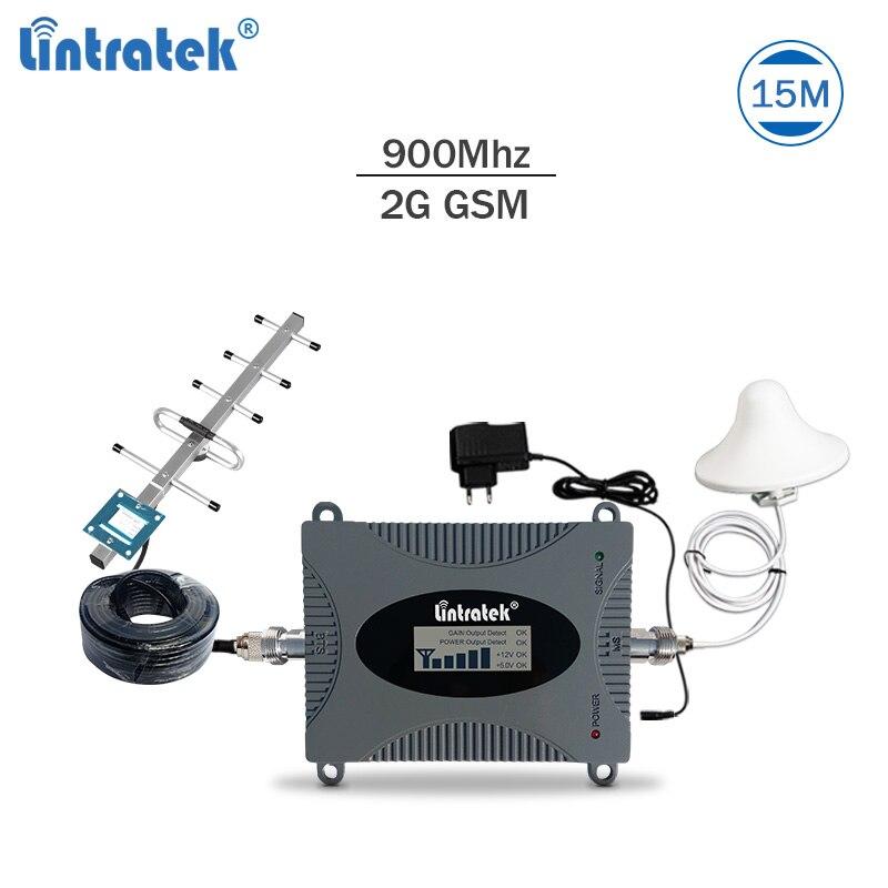 Répéteur de signal Lintratek répéteur de signal gsm 900 Mhz répéteur de réseau mobile amplificateur de signal celulaire gsm 900 Mhz répétidor #7.1