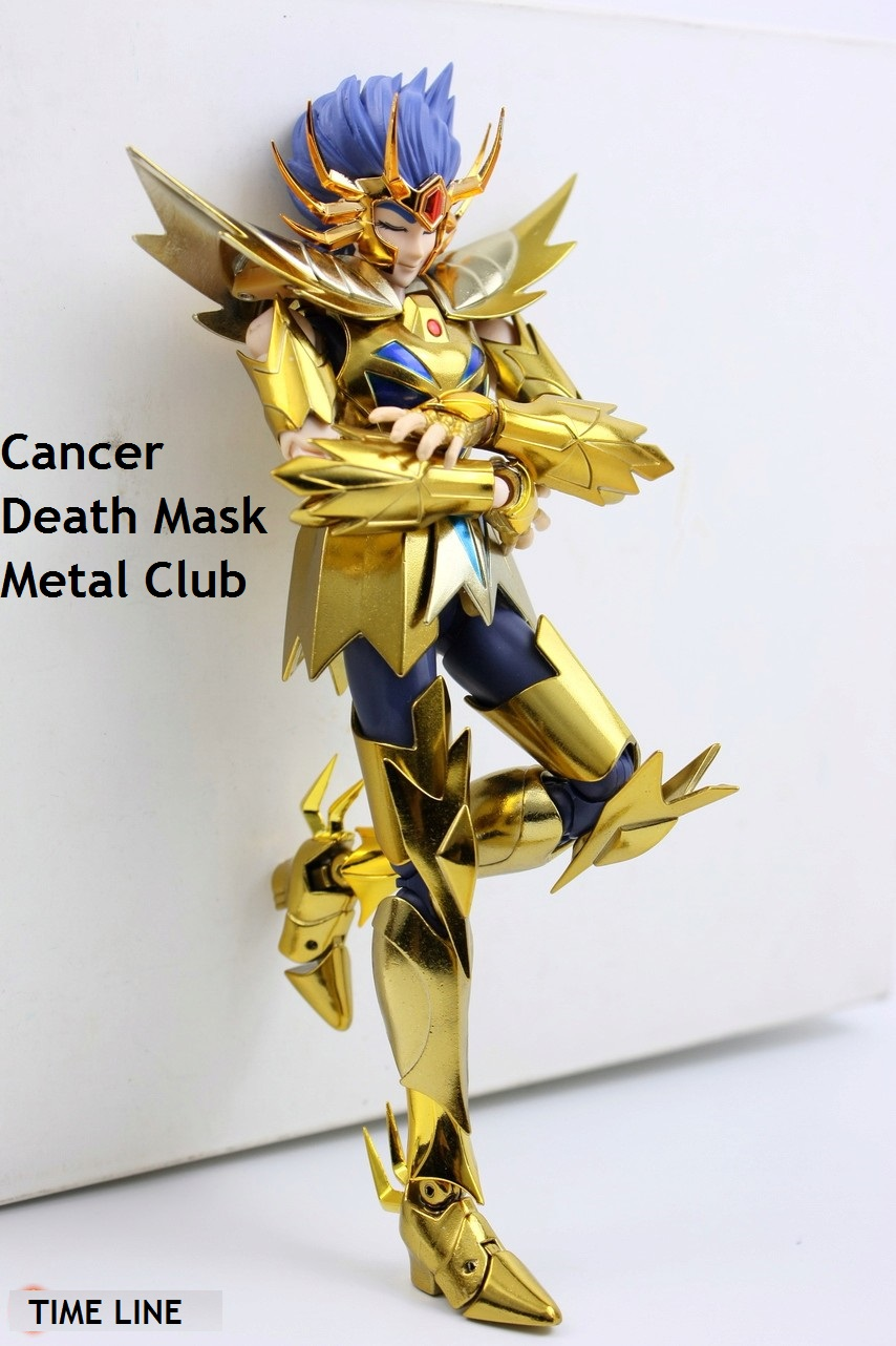 in stock Death Mask Cancer Saint Seiya Myth Cloth EX S-Temple ST METAL CLUB mc EX toy release 2017.4.02 PayPal Payment стоимость