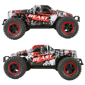 RC Car High Speed Racing Car Off Road Rock Crawlers Beast 1:16 2.4G 25km/h Model Vehicle Electronic Hobby Toys For Children Gift 2