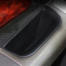 4PCS ABS Car font b Interior b font Door Stowing Holder Storage Box For Toyota Land