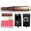 Профессиональные автоматические ногтей полировка полировка/ногтей шлифовальные машины/сталь электрический шлифовальный станок ручки пушки с 1 компл. сверло ногтя биты