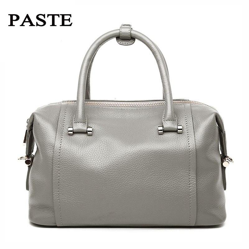 YUFANG Women Handbag Genuine Leather Shoulder Bag Cowhide Women Messenger Bags Natural Leather Ladies Crossbody Bag Fashion