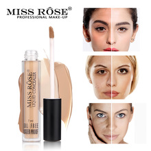 MISS ROSE 6 Colors Face Concealer Contour Palette Liquid Concealer Makeup Eye Dark Circles Cream Face Corrector Base Cosmetic недорого
