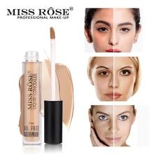 MISS ROSE 6 Colors Face Concealer Contour Palette Liquid Concealer Makeup Eye Dark Circles Cream Face Corrector Base Cosmetic недорого