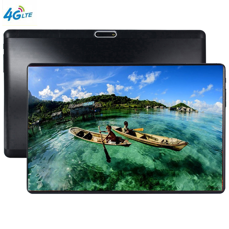3G LTE S119 10.1' Tablets Android 9.0 Octa Core Ram 6GB ROM 64GB Dual Camera 5MP Dual SIM Tablet PC Wifi GPS Bluetooth Phone