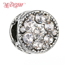 MaHeu Charms Classic Round Dot Drill Bead To Wear Jewelry Color Bright Beautiful Jeweled Jewellery Ornament Size 10*11