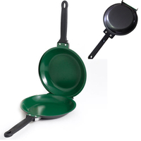 Pancake Maker Ceramic Green Non Stick Cookware Pan New