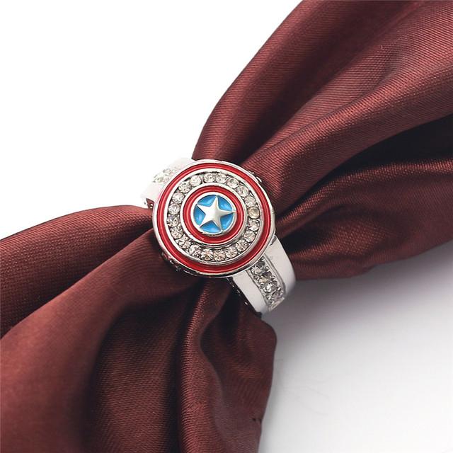 CAPTAIN AMERICA SHIELD RING