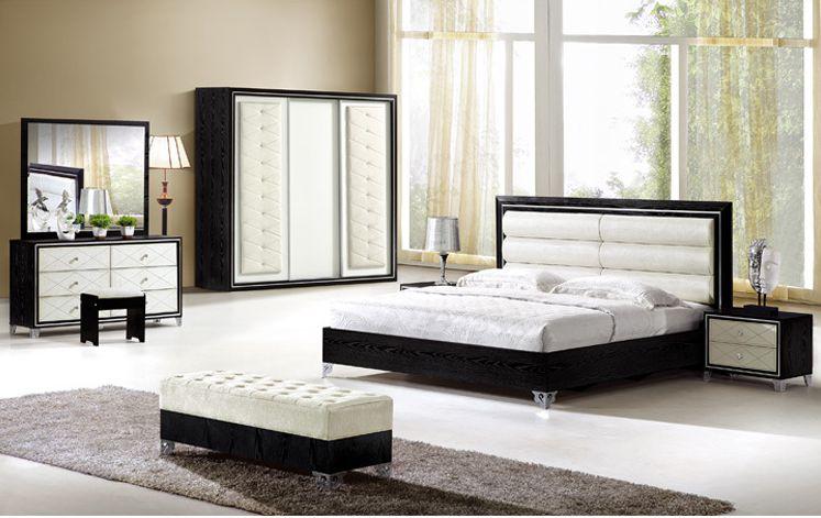 Hot Selling Bedroom Furniture 1 8 King Bedroom Set 5 Pcs