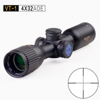 Discovery Compact Scope VT 1 4X32AOE Hunting RifleScopes Mil Dot Reticle Long Eye Relief Tactical Optical Sights