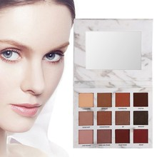 ФОТО glitter eyeshadow pallete earth matte natural pigment tints marble shades cosmetic eye shadows palette eyes make up