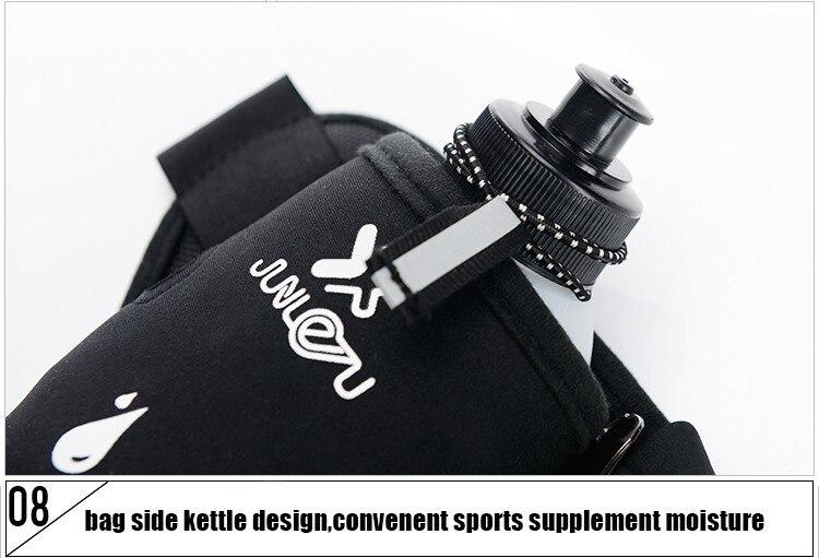 Outdoor Women&Men Hydration Belt For Trail Running Hip Waist Pack Gym Fitness Jogging Waist Bag Water Bottle Sport Accessories 47