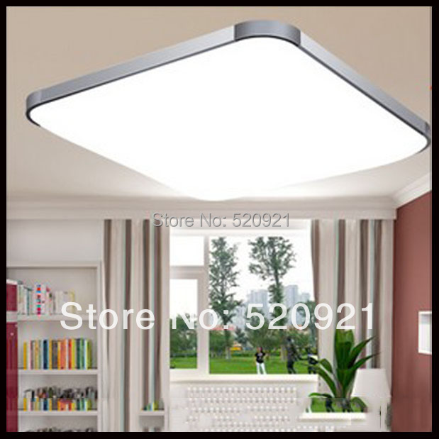 Hot Popular Bright Led Ceiling Light Square Ceiling Lamp 12W AC85 265V  Acryl Living Room ...