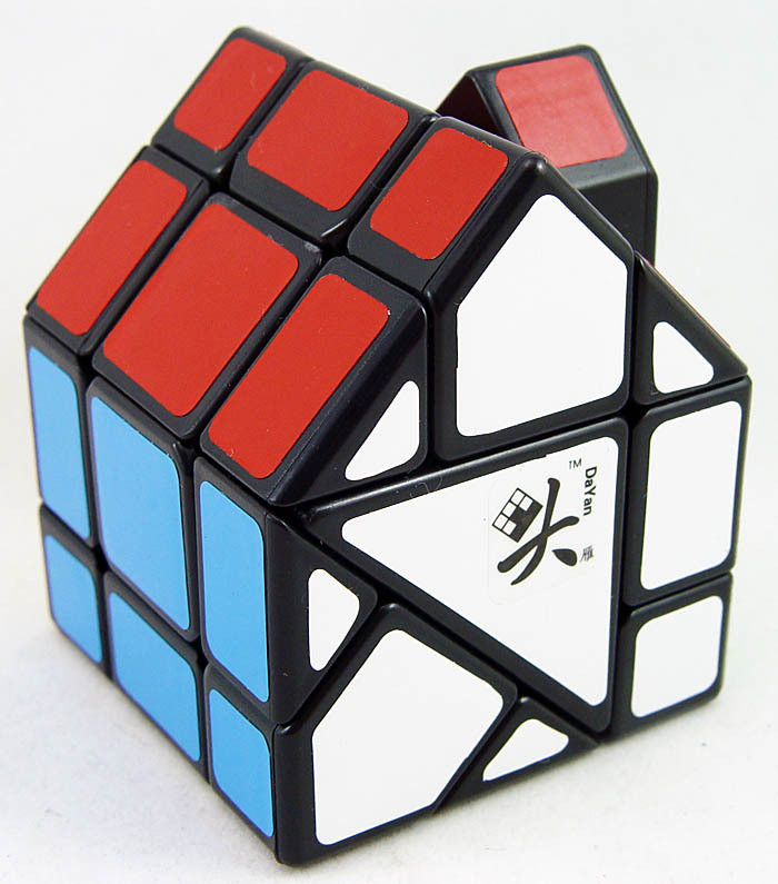New-DaYan-Bermuda-House-II-Black-Red-House-Dayan-Bermuda-Magic-cube-