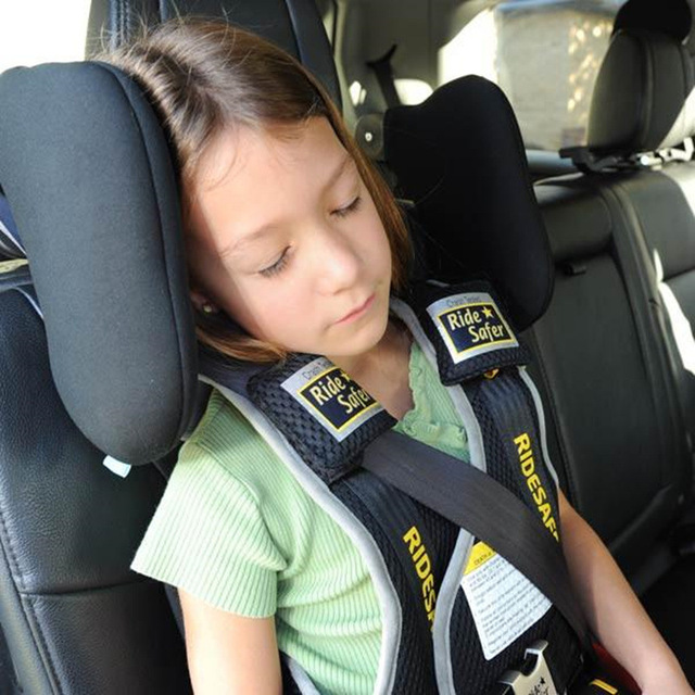 Children Safety Head Rest Pillow Neck Back Seat Cushion Sleeping Support Soft Hendrest Pad
