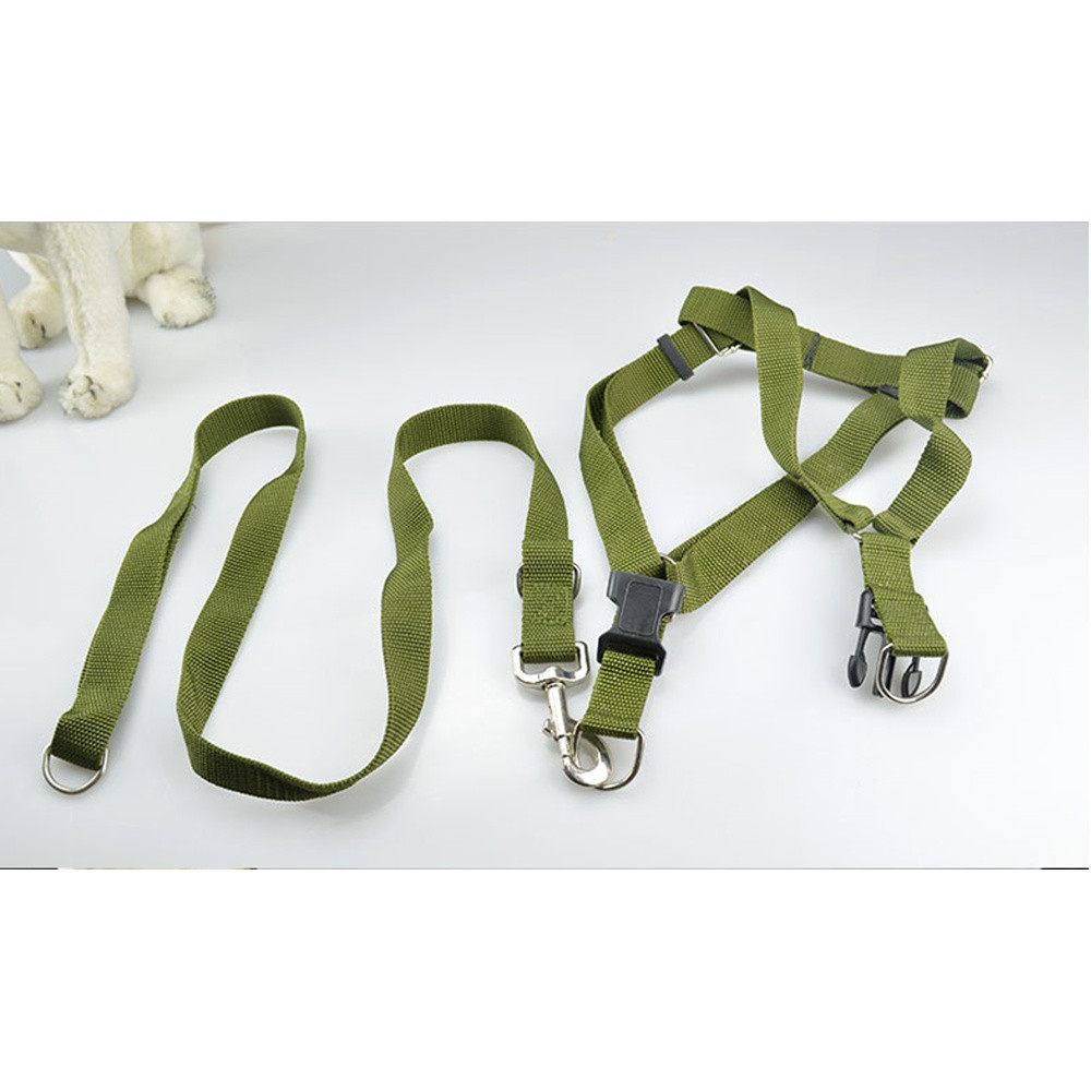 Arm Green Pets Leashes Harness Puppy Dog Harnesses High Quality Nylon Dogs Product Summer Pet Training Tools Cute Doggy Supplies